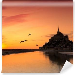 Papier peint vinyle Mont Saint Michel, France