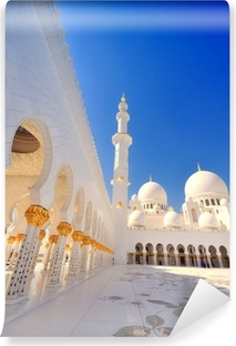 Papier peint vinyle Mosquée Sheikh Zayed à Abu Dhabi IV