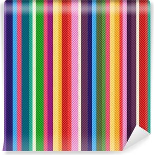 Papier peint vinyle Motif des rayures colorées sans soudure texture
