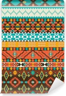 Papier peint vinyle Motif géométrique navajo transparente