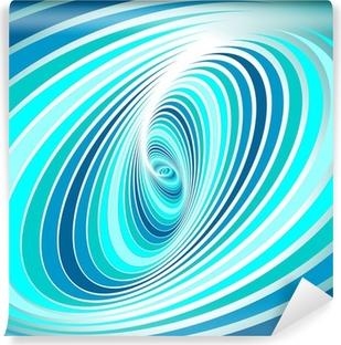 Papier Peint Vinyle Mouvement de tourbillon en spirale. Résumé de fond.