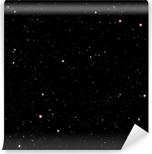 Papier peint vinyle Nuit etoilee