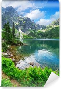Papier peint vinyle Oeil du lac mer dans les montagnes des Tatras, Pologne