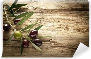 Papier peint vinyle Olives