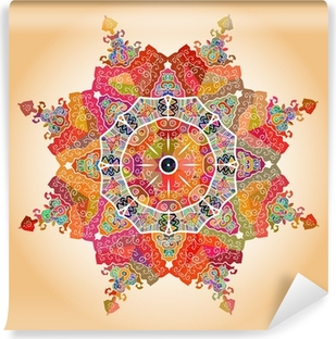 Papier peint vinyle Oriental mandala motif