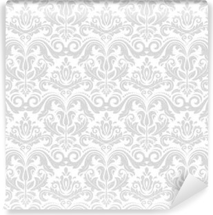 Papier Peint A Motifs Ornement Sans Couture De Damasse Motif