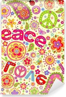 Papier peint vinyle Papier peint hippie