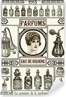 Papier peint vinyle Parfumerie