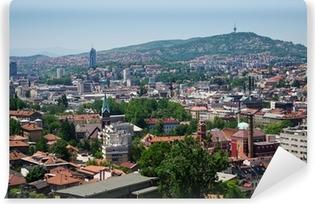 Papier peint vinyle Paysage de Sarajevo