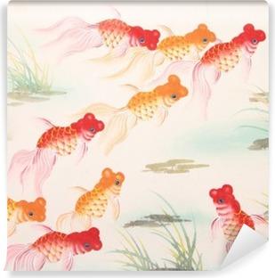 papiers peints poisson rouge pixers nous vivons pour. Black Bedroom Furniture Sets. Home Design Ideas