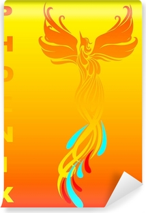 Papier peint vinyle Phénix mythique oiseau