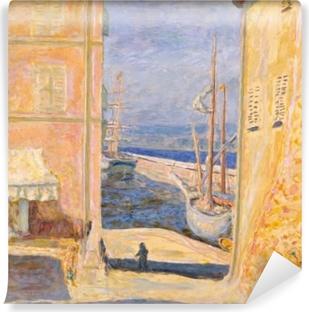 Papier peint vinyle Pierre Bonnard - Vue sur le Vieux Port, Saint-Tropez