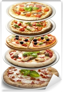 Papier peint vinyle Pizzas