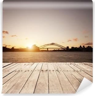 Papier Peint Vinyle Planche de bois et des sites Sydney