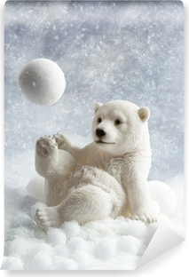 Papier peint vinyle Polar Bear Décoration