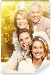 Papier peint vinyle Portrait de famille heureuse