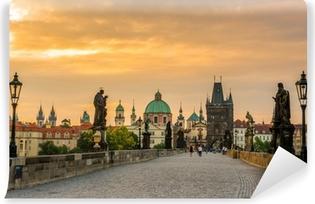 Papier peint vinyle Prague pont charles