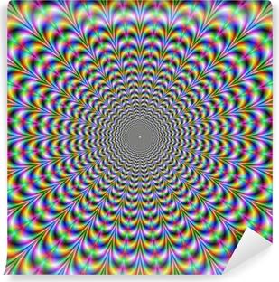 Papier peint vinyle Psychedelic Web