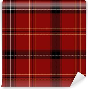Papier peint vinyle Red Tartan Seamless Pattern