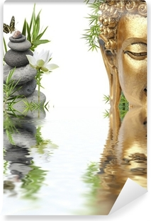 Papier peint vinyle Reflets de Bouddha