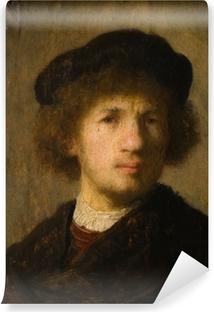 Papier peint vinyle Rembrandt - Autoportrait