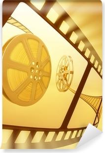 Papier peint vinyle Rétro bobine de film