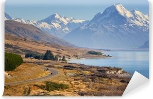 Papier peint vinyle Road to Mount Cook, Nouvelle-Zélande