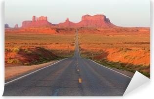 Papier peint vinyle Route de Monument Valley
