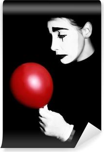Papier peint vinyle Sad mime interprète Pantomime