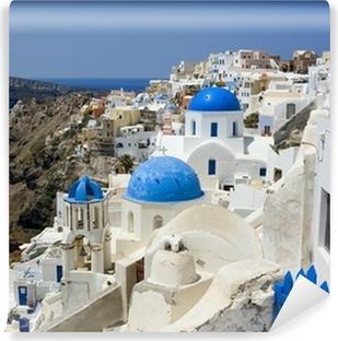 Papier peint vinyle Santorini