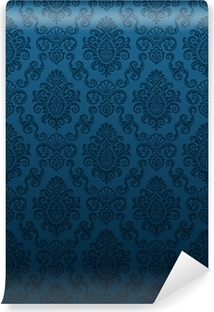 Papier peint vinyle Seamless Damask Wallpaper