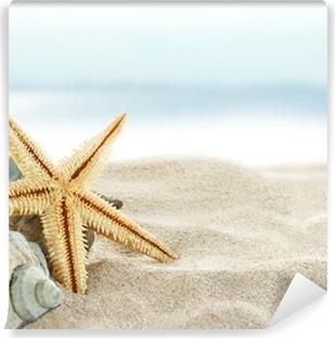 Papier peint vinyle Starfish on the beach
