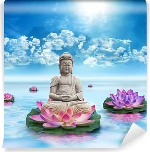 Papier peint vinyle Statue bouddha