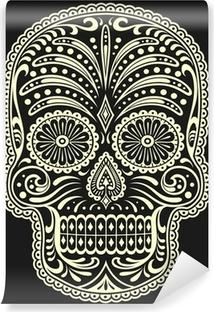 Papier peint vinyle Sugar skull