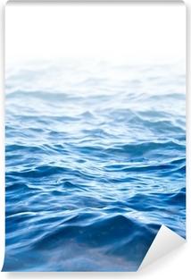 Papier peint vinyle Surface de l'eau, fond abstrait avec un champ de texte