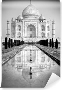 Papier Peint Vinyle Taj Mahal, Agra, dans l'Uttar Pradesh, en Inde