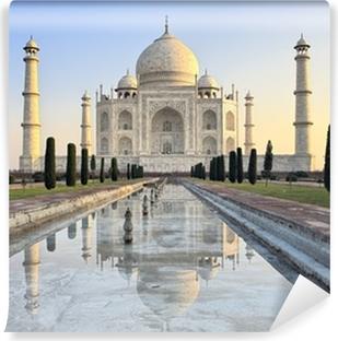 Papier Peint Vinyle Taj Mahal au lever du soleil