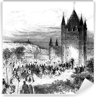 Papier peint vinyle Templars - Templiers