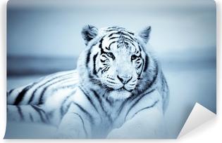 Papier peint vinyle Tigre