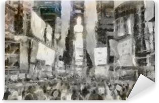 Papier peint vinyle Times Square New York