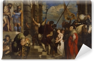 Papier peint vinyle Titien - Ecce Homo