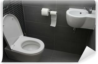 Tableau Sur Toile Toilettes Modernes Pixers Nous Vivons Pour