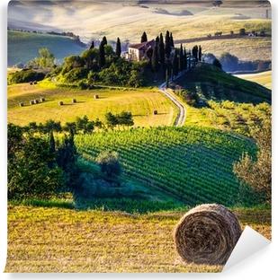 Papier peint vinyle Toscane, Paysage italien