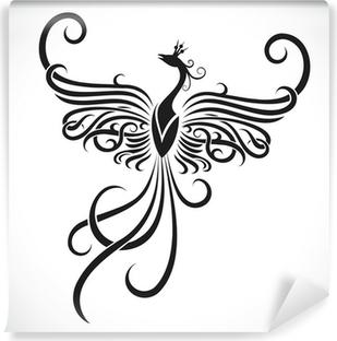 Poster Tribal De Tatouage De Phoenix Pixers Nous Vivons