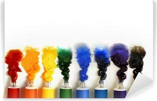 Papier peint vinyle Tubes de peinture