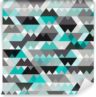Papier peint vinyle Turquoise vecteur de fond brillant