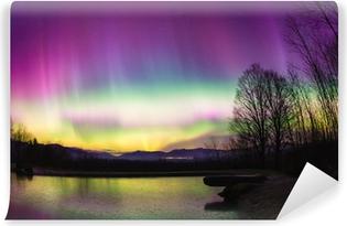 Papier peint vinyle Uncommon Aurora Borealis dans le Vermont.