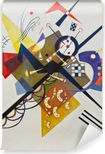Papier peint vinyle Vassily Kandinsky - Sur blanc no 2