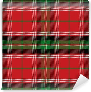 papiers peints tartan ecossais rouge pixers nous vivons pour changer. Black Bedroom Furniture Sets. Home Design Ideas