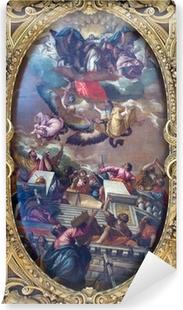 Papier peint vinyle Venise - La douleur de l'Immaculée et saints